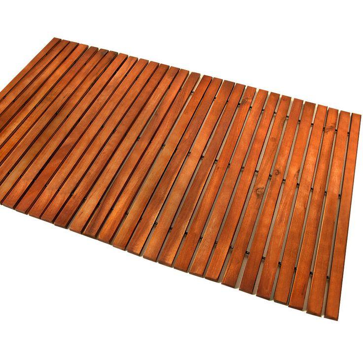 Badematte Badmatte Holzmatte Eukalyptus Holz Badvorleger Vorleger Duschvorlage