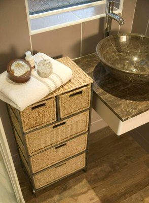 Photo On Seagrass drawer units shaker style units and other bathroom storage