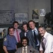 Ron Carey, Max Gail, Ron Glass, Steve Landesberg and Hal Linden in Barney Miller