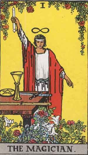 "The tarot arcane ""The Magician"" is one of my favourite symbols, it represents the abbility to transform the world and have power over it, Greeks called it ""Techne"""