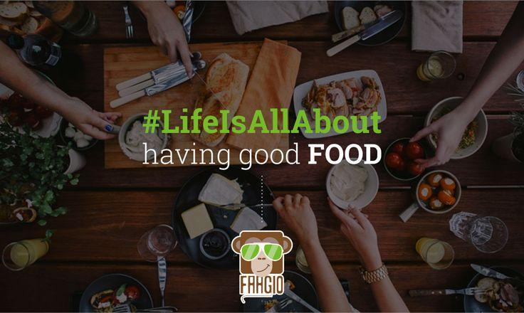 #LifeIsAllAbout #food #goodfood #foodie #life #HealthyFood #Faagio