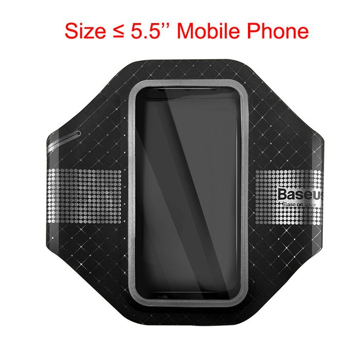 Baseus Casual Sports Running Armband Waterproof Arm Band Cover Case For iPhone 7 6 6s Plus Samsung Xiaomi HTC LG Sony Phone Bag