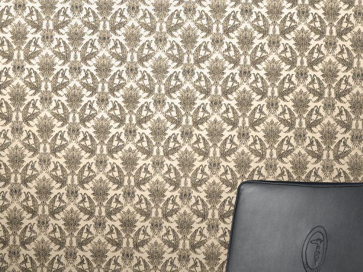 Idei de amenajare cu tapet de lux Trussardi Wall Decor 2