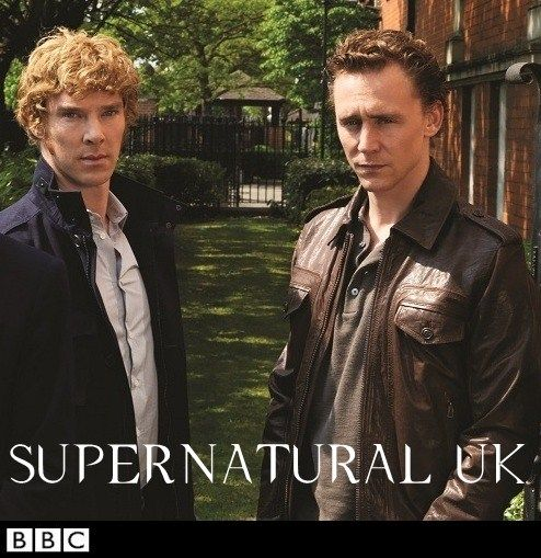 Previous pinner - Benedict Cumberbatch as Sam, Tom Hiddleston as Dean. The rest of my picks would be Arthur Darvill as Castiel, Christoper Eccleston as Bobby, and Matt Smith as Garth. Can this happen, please?<<< GAHHHH YES!