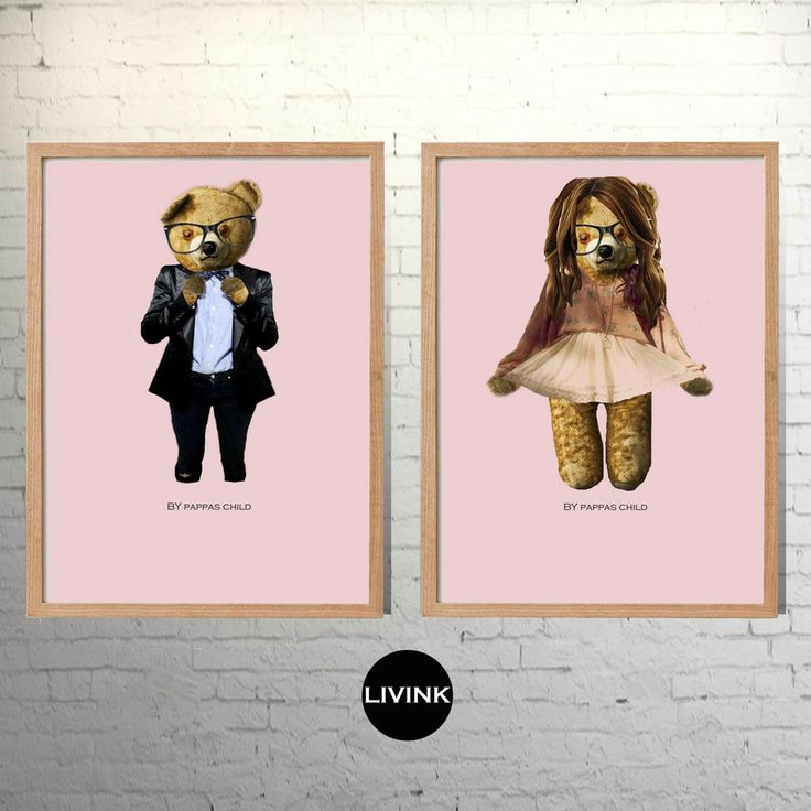 A4 2.pk.  Hipster teddies  By Pappas child via LIVINK. Click on the image to see more!