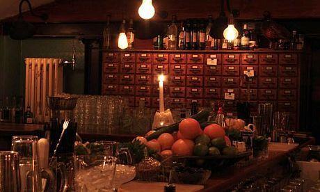 Evans & Peel Detective Agency (bar), London