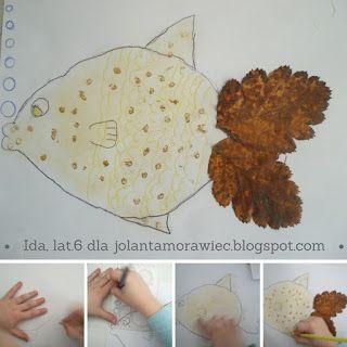 Po pierwsze kreatywność: Sztuka z ... liścia