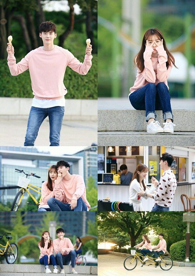 Kontak Perkasa Futures: Manisnya Han Hyo Joo-Lee Jong Suk Kencan Pakai Baju Couple di 'W'