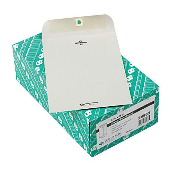 Quality Park 38563 63 6 1 2 X 9 1 2 Executive In 2020 Envelope Ebay Box