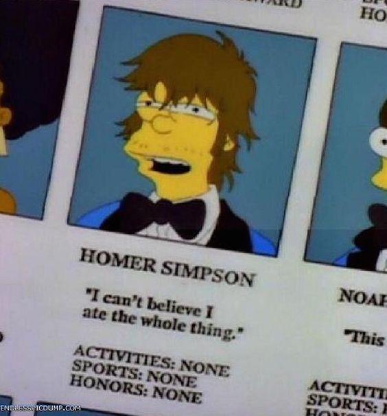 Homer Simpson Wedding Quotes: 17 Best Ideas About Simpsons Meme On Pinterest