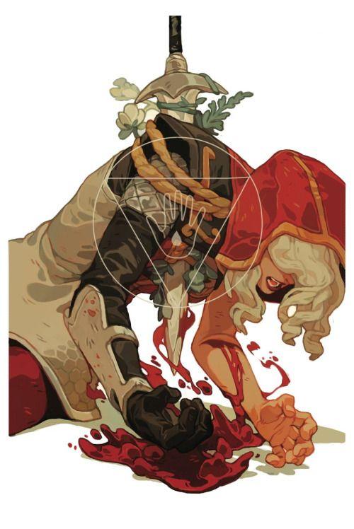 Dragon Age: Magekiller #1 for Dark Horse Comics by Sachin Teng