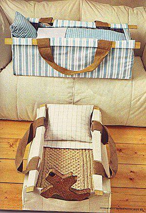 DIY baby portative crib #sewing #baby #pattern