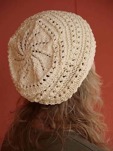 Great lace hat. Free pattern.