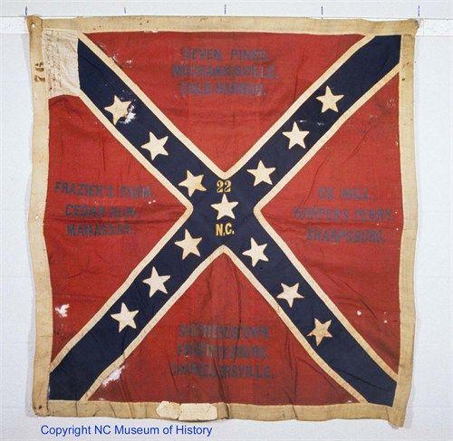 Battle Flag 22nd North...