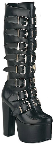 Torment-804, Demonia, Demonia Boots, Punk Shoes, Punk Boots, Creepers, Demonia Shoes