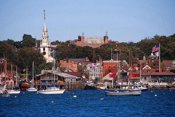 "Newport, Rhode Island, ""With it's barely-touched architecture and stunning harbor, Newport is the quintessential New England town. Come for the pristine colonial homes and Gilded-Age mansions, stay for one of the many anticipated events, like July's Newport Folk Festival.""      #VisitRhodeIsland"
