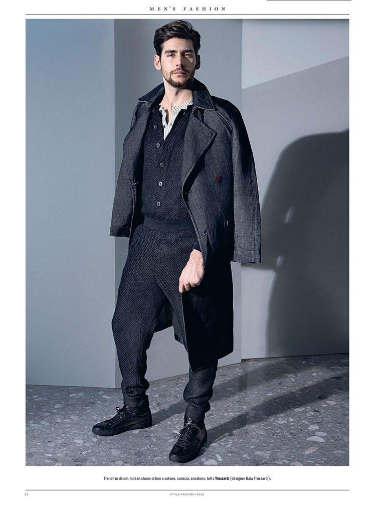 Singer Alvaro Soler in a TRUSSARDI Spring Summer 2016 look featured in Style Magazine Italia | TRUSSARDI Editorials #Trussardi