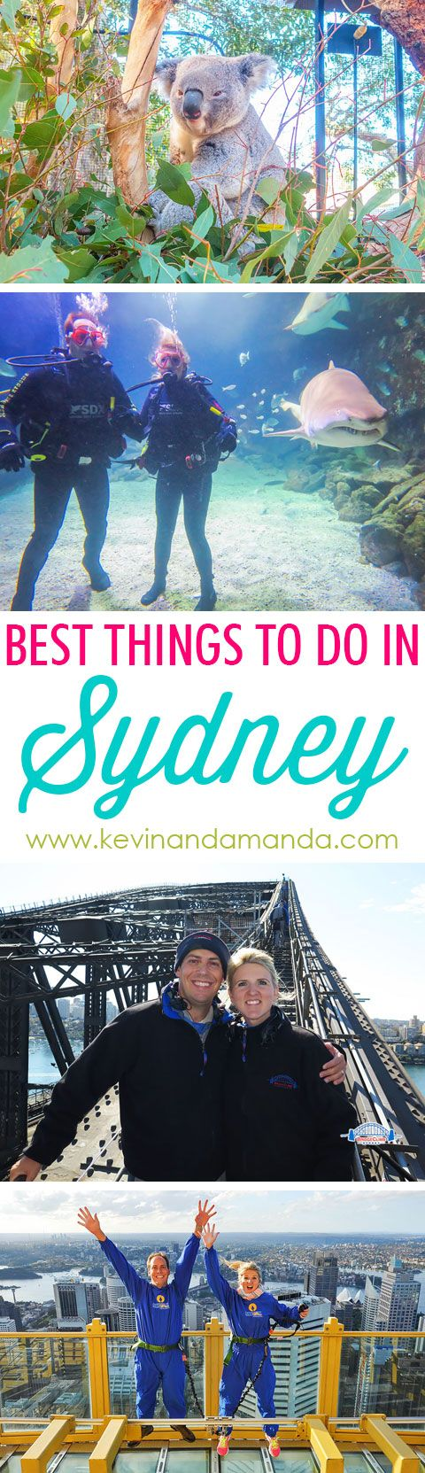 Best Things To Do in Sydney! Thinking about planning a trip down under? Here are the best things to do in Sydney, Australia.