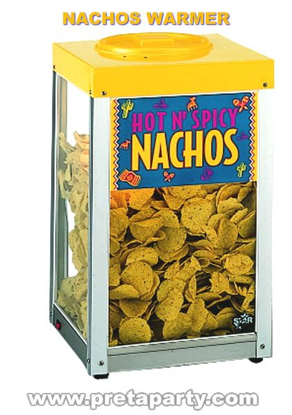Nacho warmer rental in Montreal!
