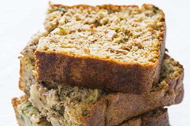 Gluten-free courgette loaf