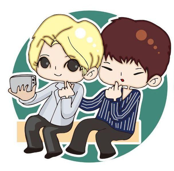 Selfie.. Sung Brother (Jong and Gyu)
