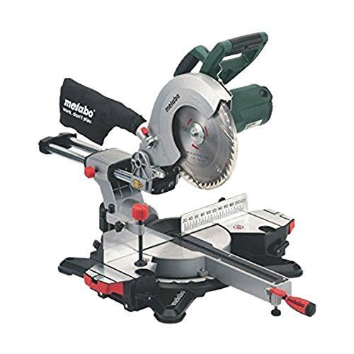Metabo KGS216M Sliding Mitre Saw 216mm Supplied with: Carbide Saw 40 teeth,2 Table length extensions...4007430256591...4007430280718
