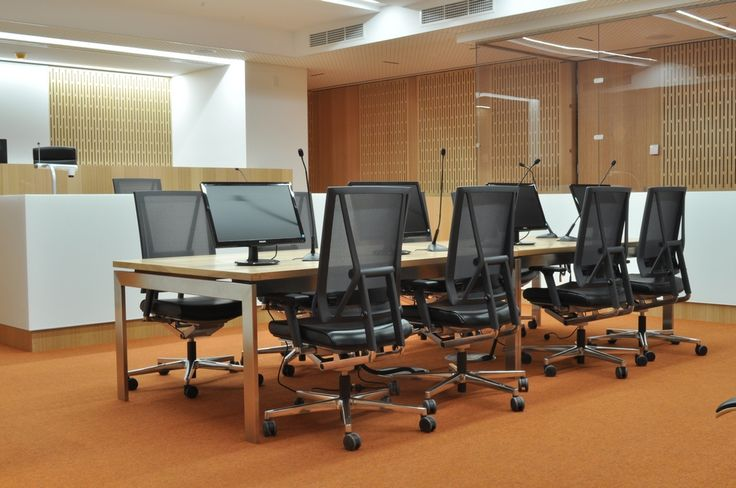 Deparment of Justice fit-out by Eastern Commercial Furniture - SCOPE task chairs by Burgtec