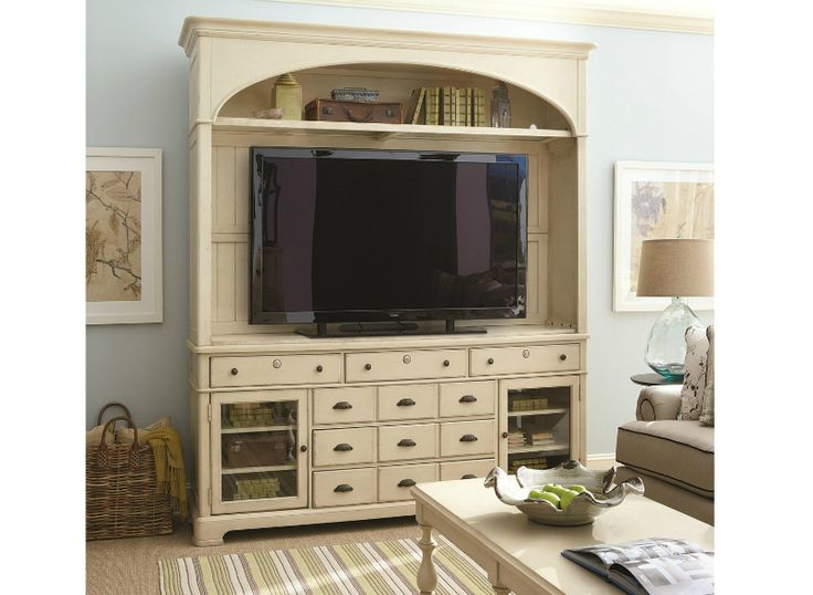 394965 Universal Furniture Paula Deen River House   River Boat Home  Entertainment Furniture Entertainment Centers
