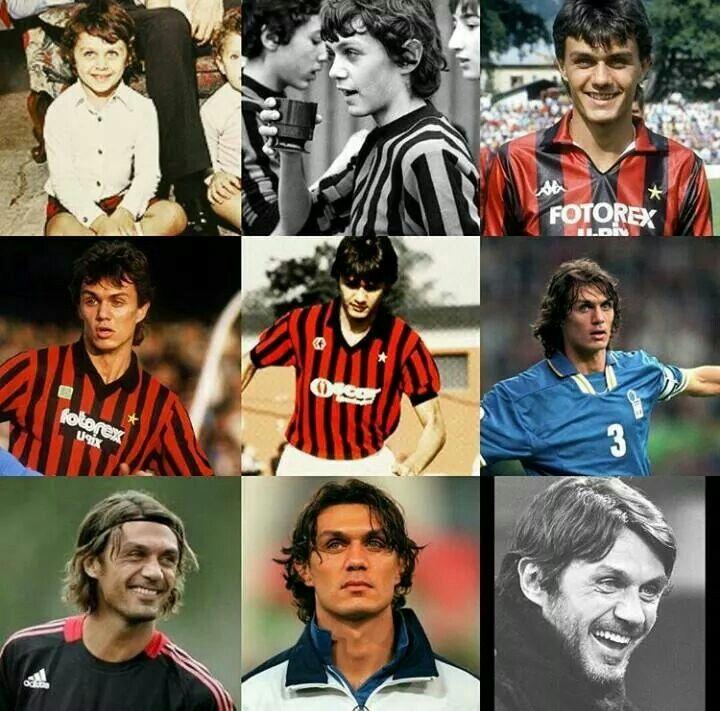 ~ Karir Dari Paolo Maldini dalam satu gambar 🔴⚫ #Acmilan #Milan #forzamilan #weareacmilan