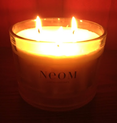 Neom 3 Wick Tranquility Candle.