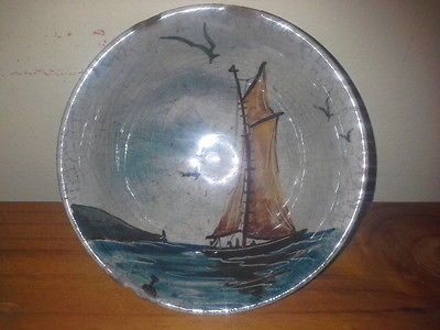 Australian Pottery - Martin Boyd, Small (10.5cm) Vintage Hand Painted Dish in Pottery, Glass, Australian Pottery, Boyd | eBay
