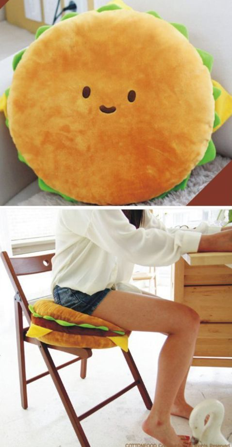 Hamburger Plush Cushion