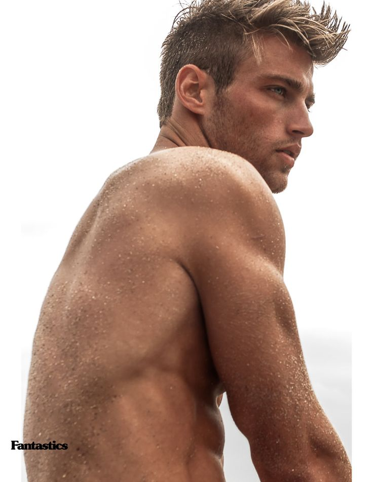 "Heath Hutchins at Chosen Male Models in ""Note This"" shoot in Miami Beach by Scott Teitler in exclusive for FantasticsMag"