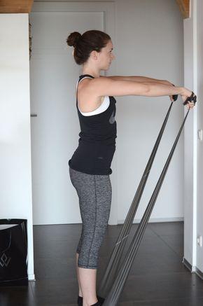 Anfänger Schulter Workout mit dem Theraband - für Zuhause, Gym, Draußen oder vor dem Fernseher! Squats, Greens & Proteins