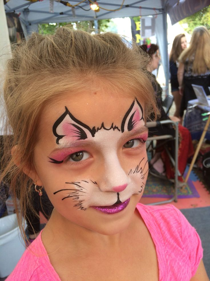 "Painted by ""Z"" of ""Z"" Face & Body Art at the Durham Fair 2015"