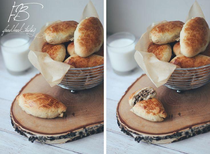 Пирожки с мясом   Food Book