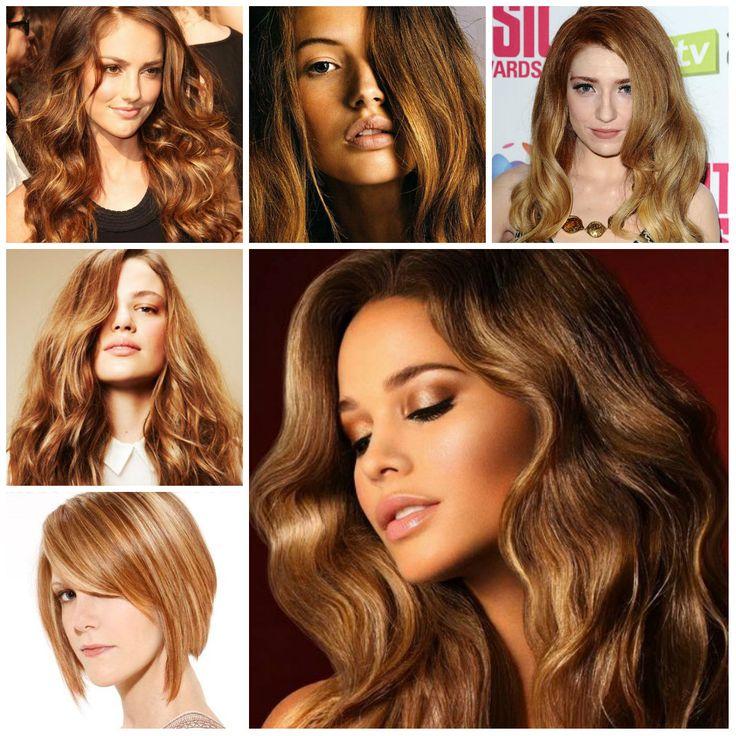 2016 Women Hair Color Idea: The Ronze