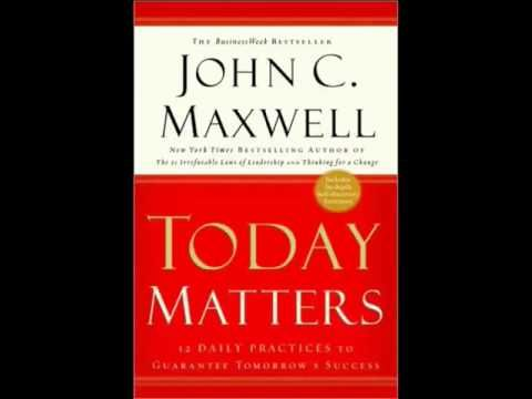 Audiobook -  Today Matters by John Maxwell