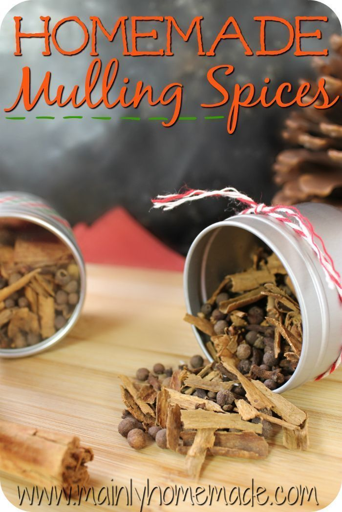 Homemade mulling spice recipe for homemade mulled wine, homemade apple cider, Spiced hot cider or homemade wassail. #mullingspices #homemaderecipe #Wassail ...