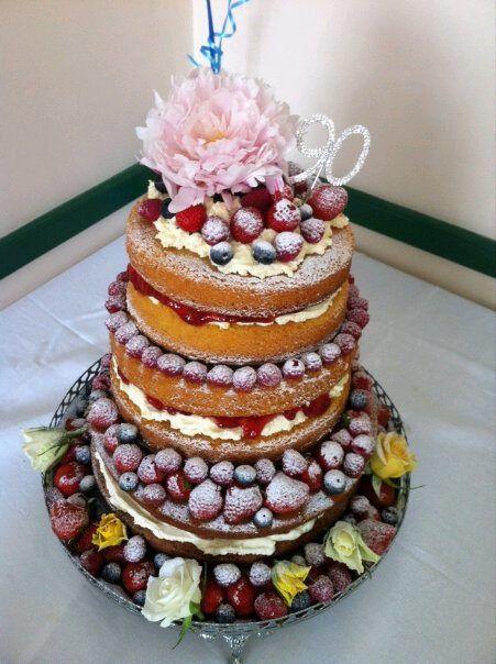 Jungle Decorated Victoria Sponge Cake
