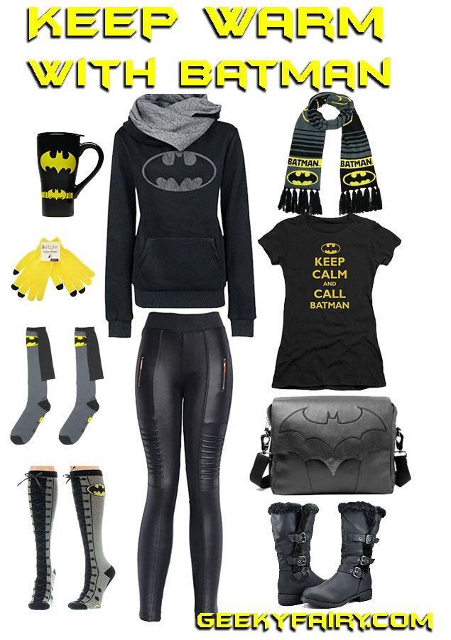 Batman Winterwear – Geeky Fairy