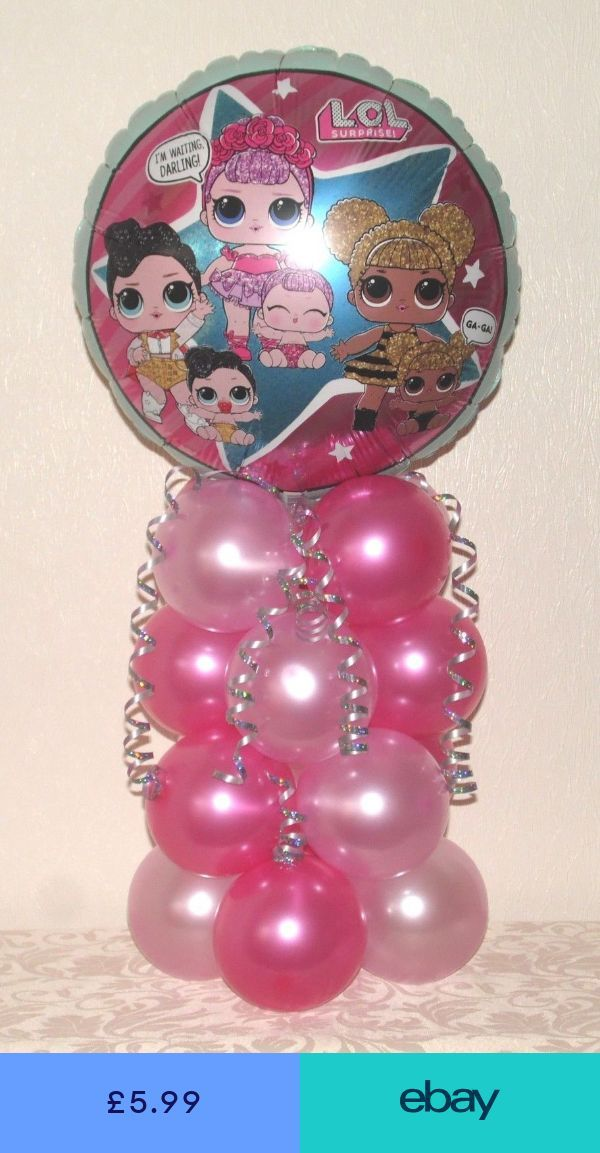 Balloons Home, Furniture & DIY #ebay – LOL Geburtstagsparty – #amp #birthday #DI …   – LoL Dolls