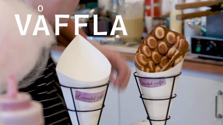 Lunedet Cafe Bubblewafflewrap Freakshakes Glass Stora Räkmackor mm