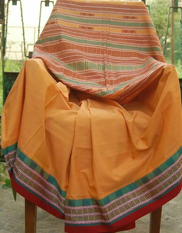 Tribal Handloom...... Habaspuri saree from Odisha