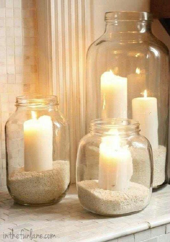 decoración botellas de vidrio 15