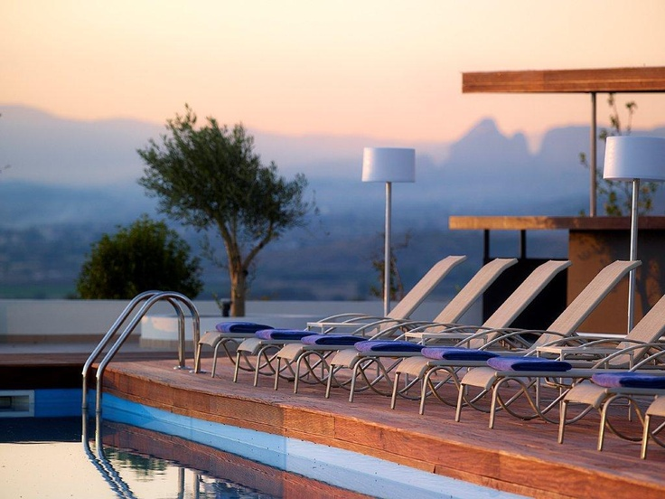 Trésor Hotels and Resorts_Luxury Boutique Hotels_ Book your #Easter #Escape at #Ananti #City #Resort in #Trikala, with stunning views to the imposing rocks of #Meteora, with a 15% discount, and free usage of the hammam, sauna and spa, here: http://bit.ly/XzGviG