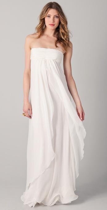 robe de mariée taille empire et bustier mariages et babillages