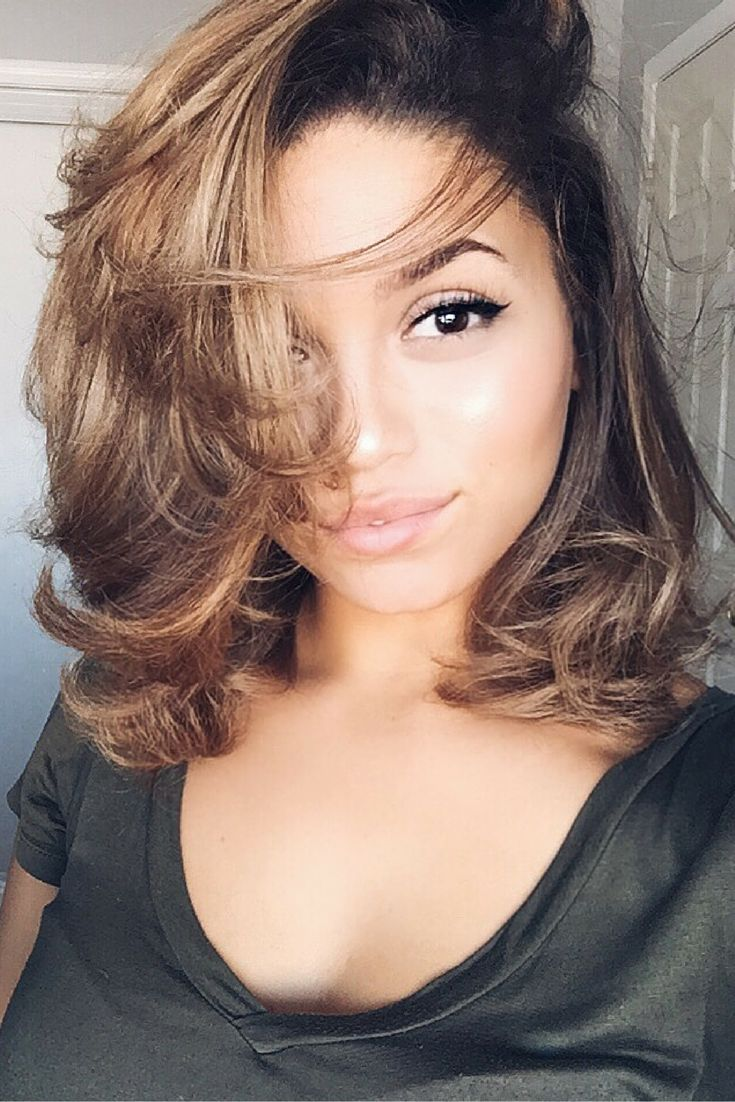 How To Blow Dry Curly Hair Straight. 3b/3c Achieve perfect Blowout. Curly to Straight Hair