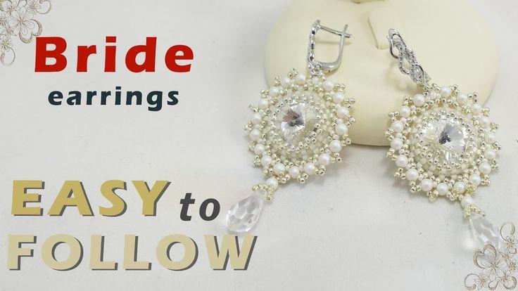 how to make beaded earrings