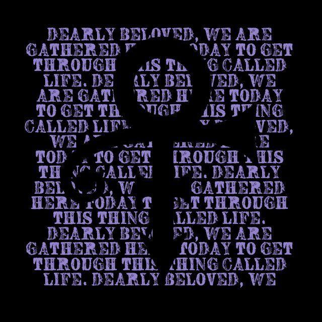 Prince RIP Tribute Life Quote Symbol Purple Rain Men's Novelty Graphic T shirt #LimpinLarrysTshirts #GraphicTee